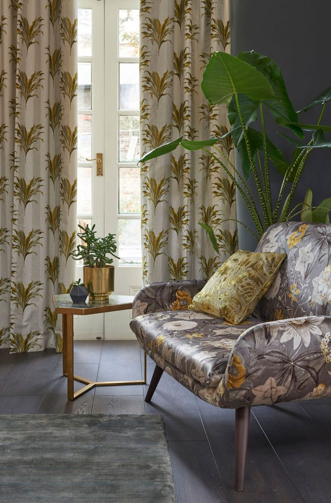 Clarke & Clarke Curtains in Somerset